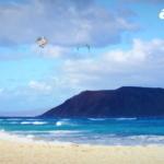 kite flagbeach