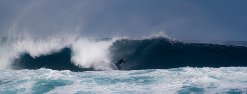big wave surf fuerteventura